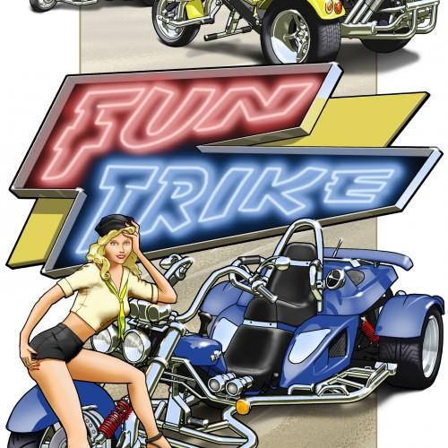 1009 – TRAP' – Fun Trike – A4 200 DPI