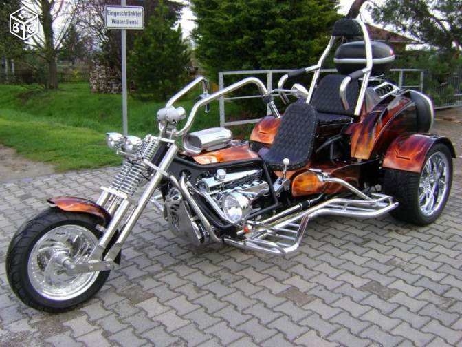 trike smt monster v8 serie high line fun trike. Black Bedroom Furniture Sets. Home Design Ideas
