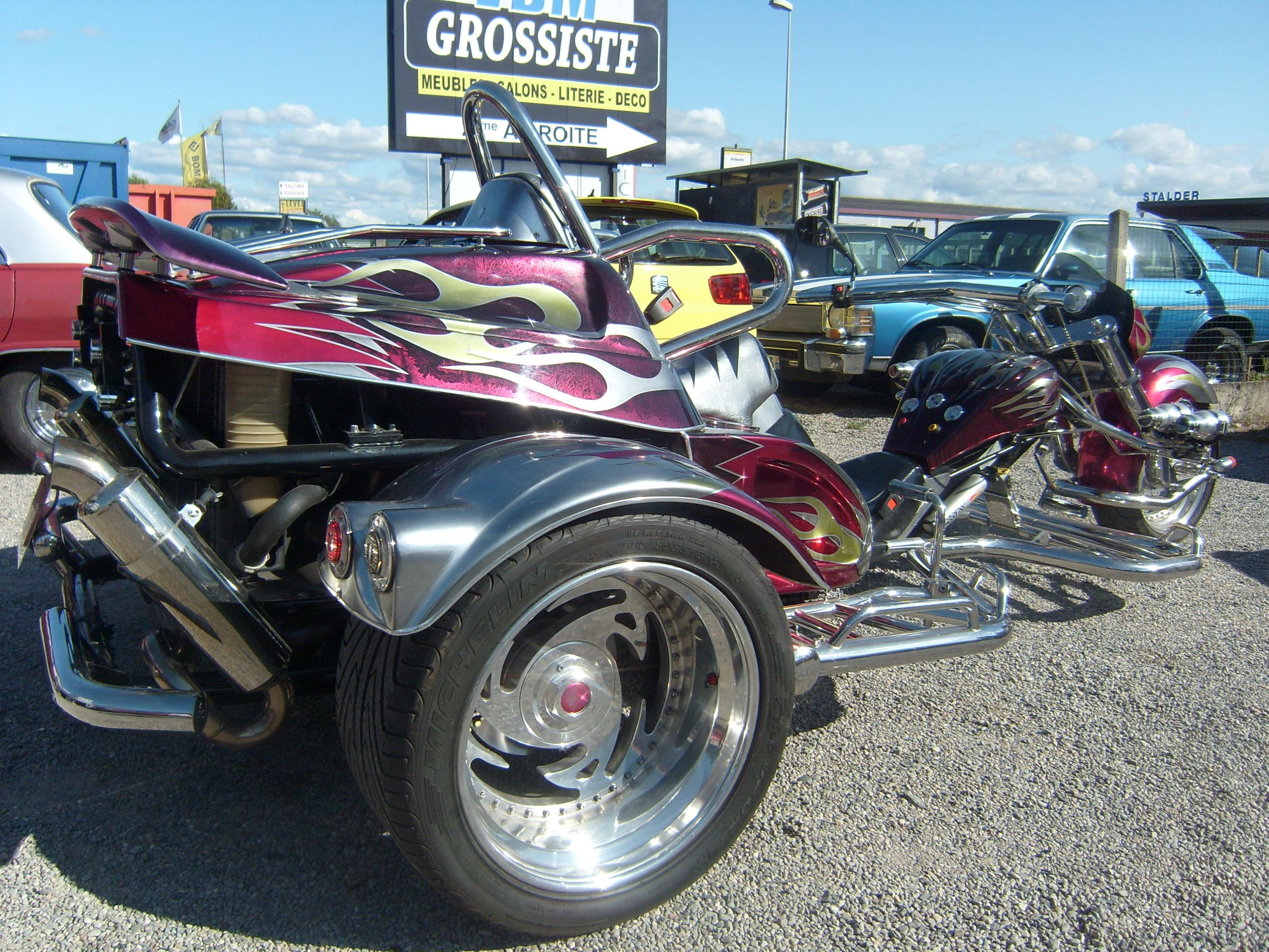 trike boom x11 fighter 2006 17000 kms moteur 2 litres 140cv fun trike. Black Bedroom Furniture Sets. Home Design Ideas